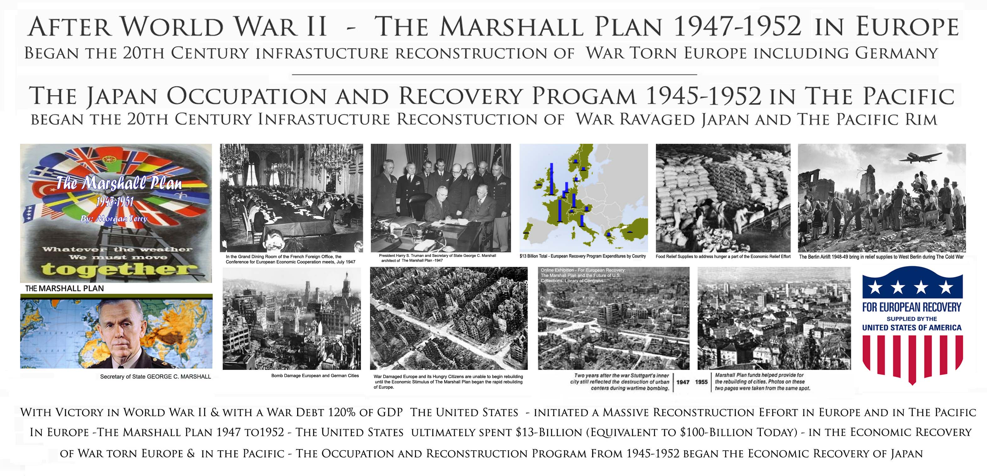 marshall plan essay Effects of the marshall plan - the effects of the marshall plan included quick recovery from world war ii learn about the effects of the marshall plan.