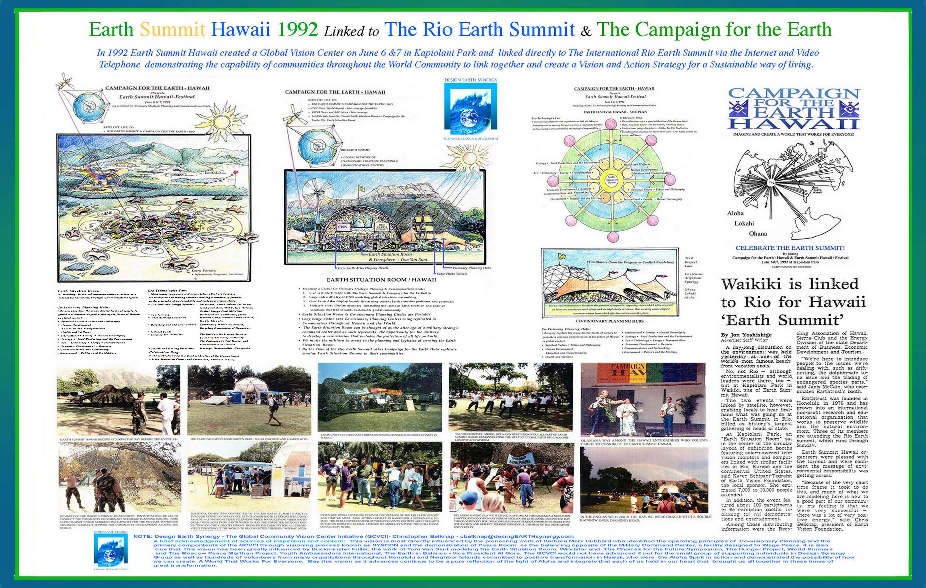 agenda 21 essay Agenda 21 was an idea that supported sustainable development it was introduced in the year 1992 at rio de janerio at the 'earth summit' glenn beck is a.