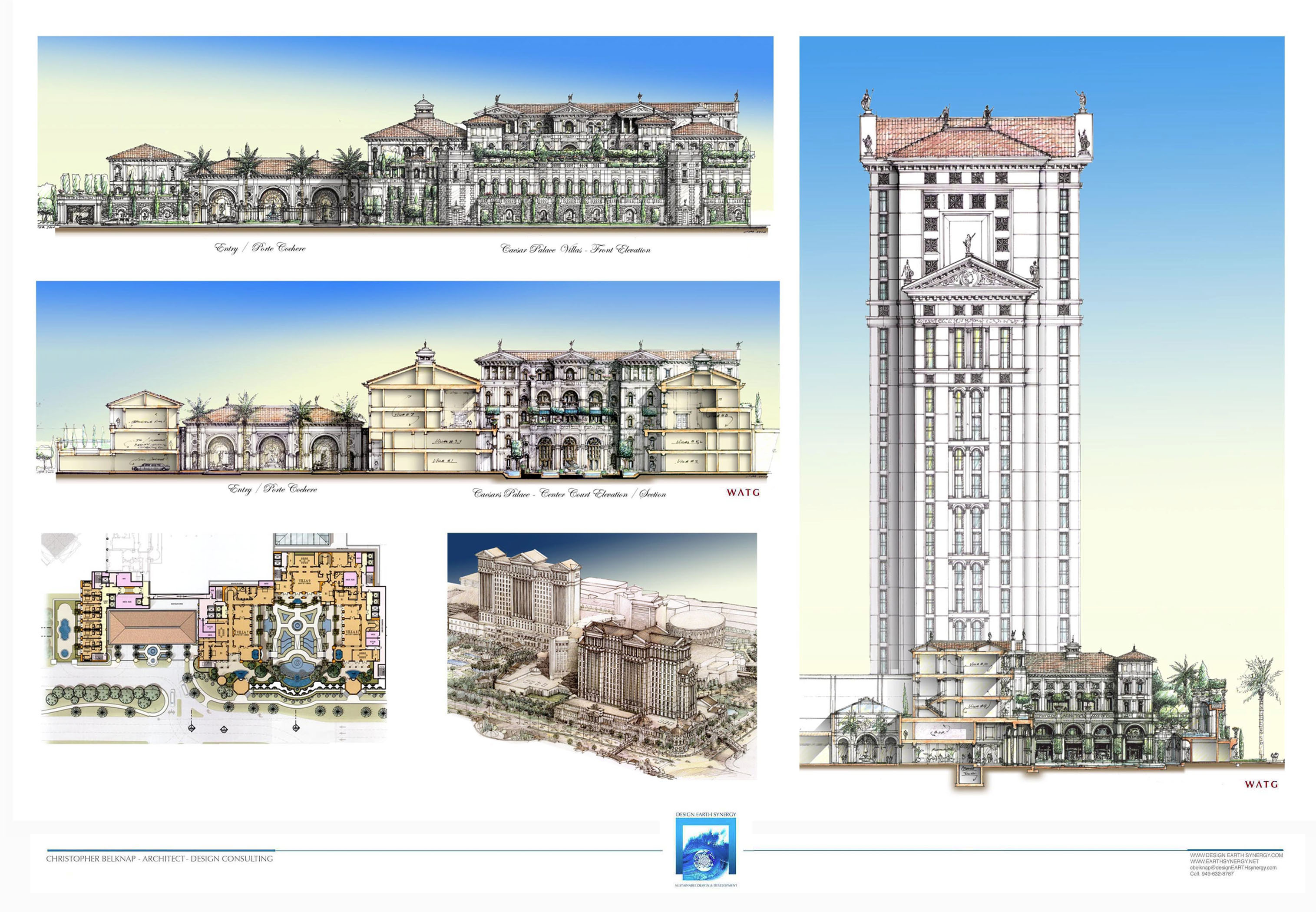 Expand Ceasars Palace Garden Villas South Tower Presentation Panels